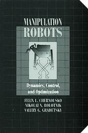 Manipulation RobotsDynamics, Control, and Optimization