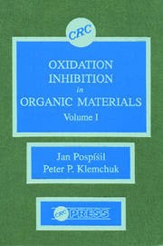 Oxidation Inhibition in Organic Materials, Volume I
