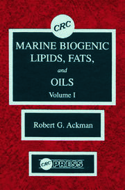 Marine Biogenic Lipids, Fats & Oils, Volume I