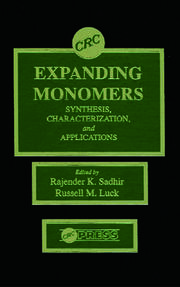 Expanding Monomers: Synthesis, Characterization, and Applications