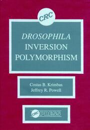 Drosophila Inversion Polymorphism