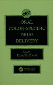 Oral Colon-Specific Drug Delivery