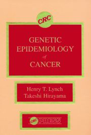 Genetic Epidemiology of Cancer