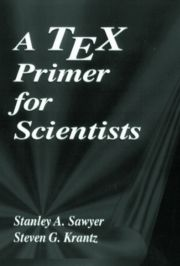 Tex Primer for Scientists A - 1st Edition book cover