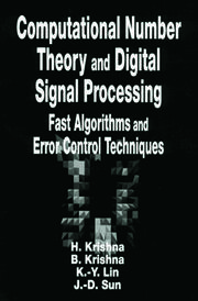 Computational Number Theory and Digital Signal Processing: Fast Algorithms and Error Control Techniques