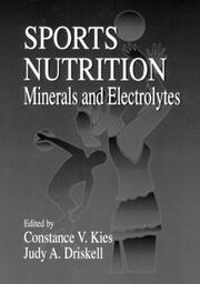 Sports Nutrition: Minerals and Electrolytes