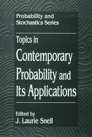 Topics in Contemporary Probability and Its Applications