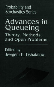 Advances in Queueing Theory, Methods, and Open Problems
