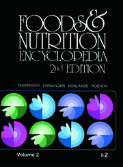Foods & Nutrition Encyclopedia I to Z, 2nd Edition, Volume 2