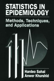 Statistics in Epidemiology: Methods, Techniques and Applications