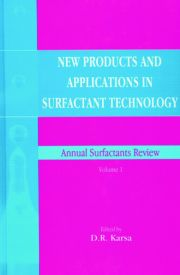 New Products and Applications in Surfactant Technology