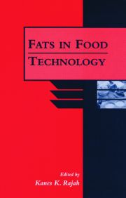 Fats in Food Technology