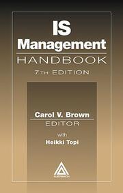 IS Management Handbook, Seventh Edition