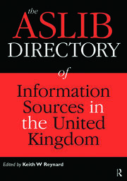 The Aslib Directory of Information Sources in the UK