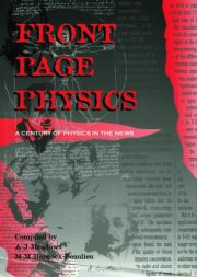 Front Page Physics: A Century of Physics in the News