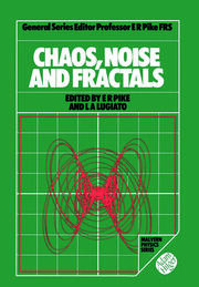 Chaos, Noise and Fractals