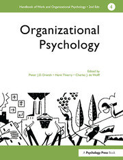 A Handbook of Work and Organizational Psychology
