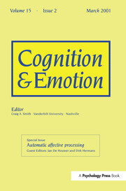 Automatic Affective Processing: A Special Issue of Cognition and Emotion
