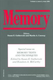 Memory Tests and Techniques: A Special Issue of Memory