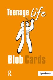 Teenage Life Blob Cards: 1st Edition (Flashcards) book cover