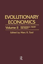 Elements of a Neoinstitutional Environmental Economics