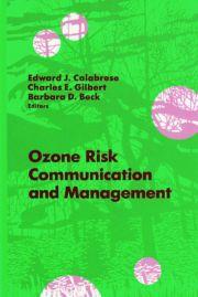 Ozone Risk Communication and Management