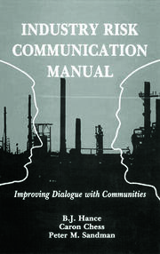Industry Risk Communication ManualImproving Dialogue with Communities