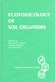 Ecotoxicology of Soil Organisms