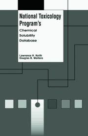 National Toxicology Program's Chemical Solubility Database