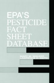 EPA'S Pesticide Fact Sheet Database