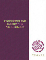 Delaware Composites Design Encyclopedia: Processing and Fabriactaion Technology, Volume III