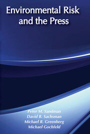 Environmental Risk and the Media - 1st Edition book cover