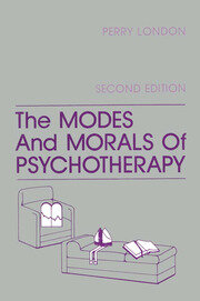 The Modes And Morals Of Psychotherapy