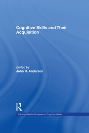 Cognitive Skills and Their Acquisition