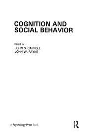 Cognition and Social Behavior
