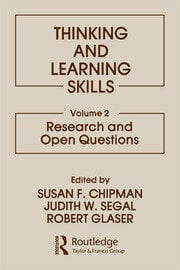 Thinking and Learning Skills: Volume 2: Research and Open Questions
