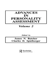 Advances in Personality Assessment: Volume 2