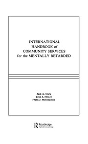 International Handbook of Community Services for the Mentally Retarded