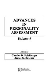 Advances in Personality Assessment: Volume 5