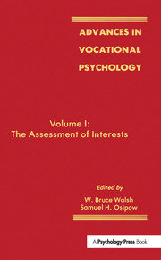 Advances in Vocational Psychology: Volume 1: the Assessment of interests