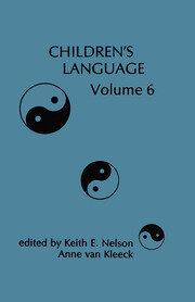 Children's Language: Volume 6
