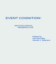 Event Cognition: An Ecological Perspective