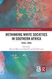 Rethinking White Societies in Southern Africa