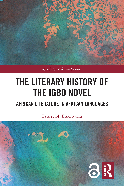 Interviews with two major Igbo novelists