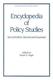 Encyclopedia of Policy Studies