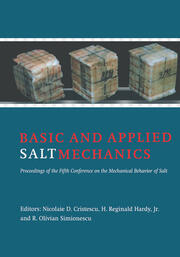 Research regarding the possible solutions related to the stability of drillings which overcross massive salt deposits