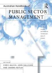 Australian Handbook of Public Sector Management