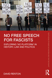 Hate speech, no platform, competing rights