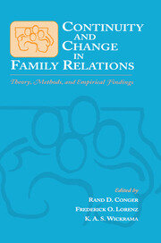 Continuity and Change in Family Relations: Theory, Methods and Empirical Findings