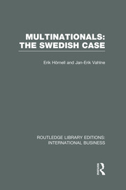 Multinationals: The Swedish Case (RLE International Business)
